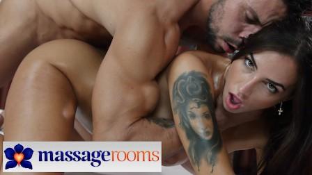 Massage Rooms Hot Latina Medusa romantic love making and erotic massage