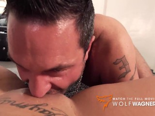 Ashley Cumstar & Andy Star enjoy a hot sex on a couch! Wolf Wagner Casting