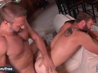 Men – Two Hot Muscular Dudes Colby Jansen & Dirk Caber Flip Flop Fuck Each Other