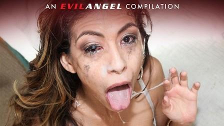 Gag Reflex Compilation Part 2 - EvilAngel