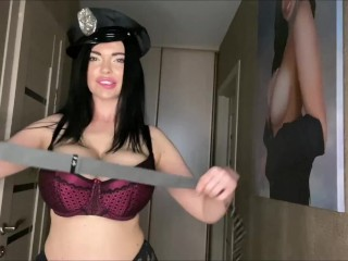 Sha Rizel is your busty police woman who loves to show her boobs