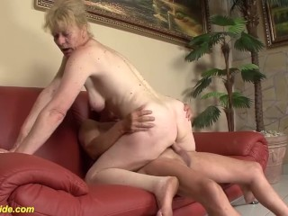 ugly granny rough big dick fucked