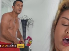Brazzers - Renato Spots Cherry Kiss Masturbating By The Pool And He Fucks All Of Her Holes