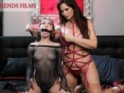 Hot MILF Teaches BDSM To Horny College Girl - Girlfriends Films