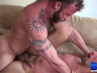 Hardcore raw breeding with handsome men