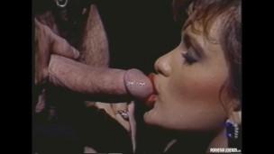 Jeanette Littledove Deepthroats Buck Adams Cock Before He Fucks Her In The Ass