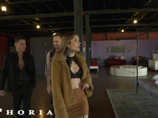BiPhoria – Vanessa Vega Joins Hot Gay Couple For Bisexual Threesome