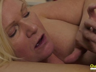 OLDNANNY Horny mature lady tracked down lover of her husband