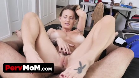 Mature step mom wants to feel stepson s big dick inside of her