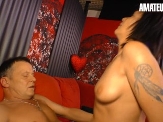 XXXOMAS - BIG TITS GERMAN GRANNY GETS FUCKED BY OLD GUY