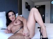 Aubrey Black rides her dildo till she orgasms