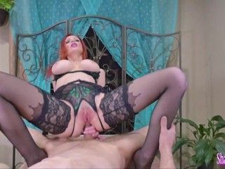 Big Boobed Shanda Fay Butt Banged Until She Leaks Cum Out Of Her Asshole!