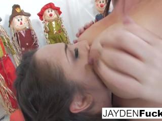 Jayden Jaymes & Kristina's Pumpkin Fun