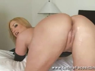 Flower Tucci is hot wife cuckolding man Making Him Eat Creampies and watch her fuck big cocks and squirting on his face sex