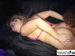 Natasha Nice rides Robby's dong
