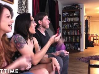 BTS with Pornstar Couple Sinn Sage and Her Husband