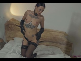Sanktor - Inked Sexy Mistress Is Posing Naked