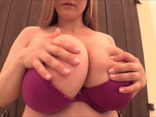 Fantasize Cheryl Blossom as she teases you with her big natural tits