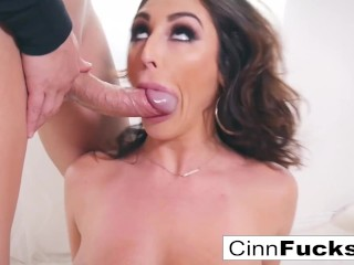 Christiana gets filled with a big cock